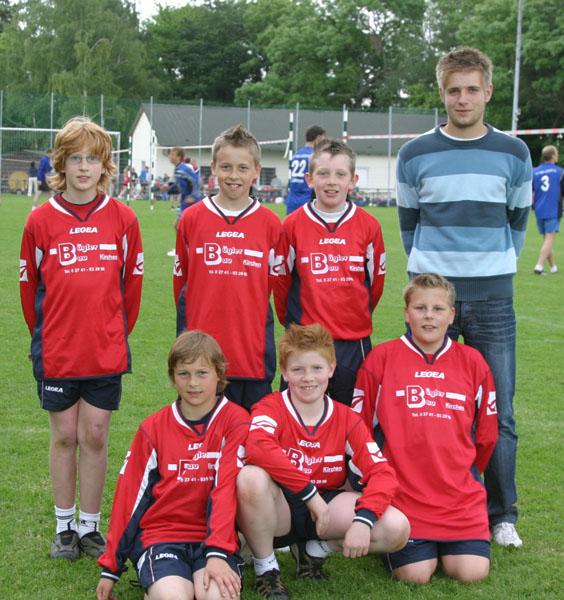 Kirchens männliche C-Jugend erreicht Platz sechs beim Turnier in Waibstadt