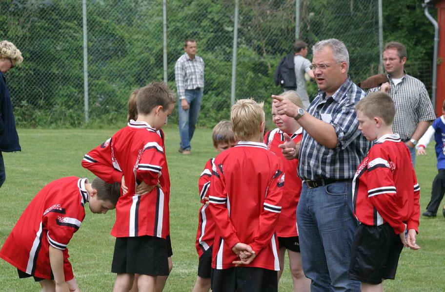 Trainer Rolf Ludwig fand auch am zweiten Spieltag die richtigen Worte: Seine Mannschaft steht weiterhin ungeschlagen an der Tabellenspitze!