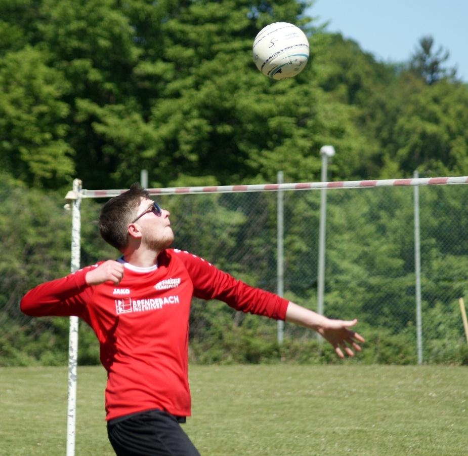 Jan Brendebach im Angriff für den VfL.