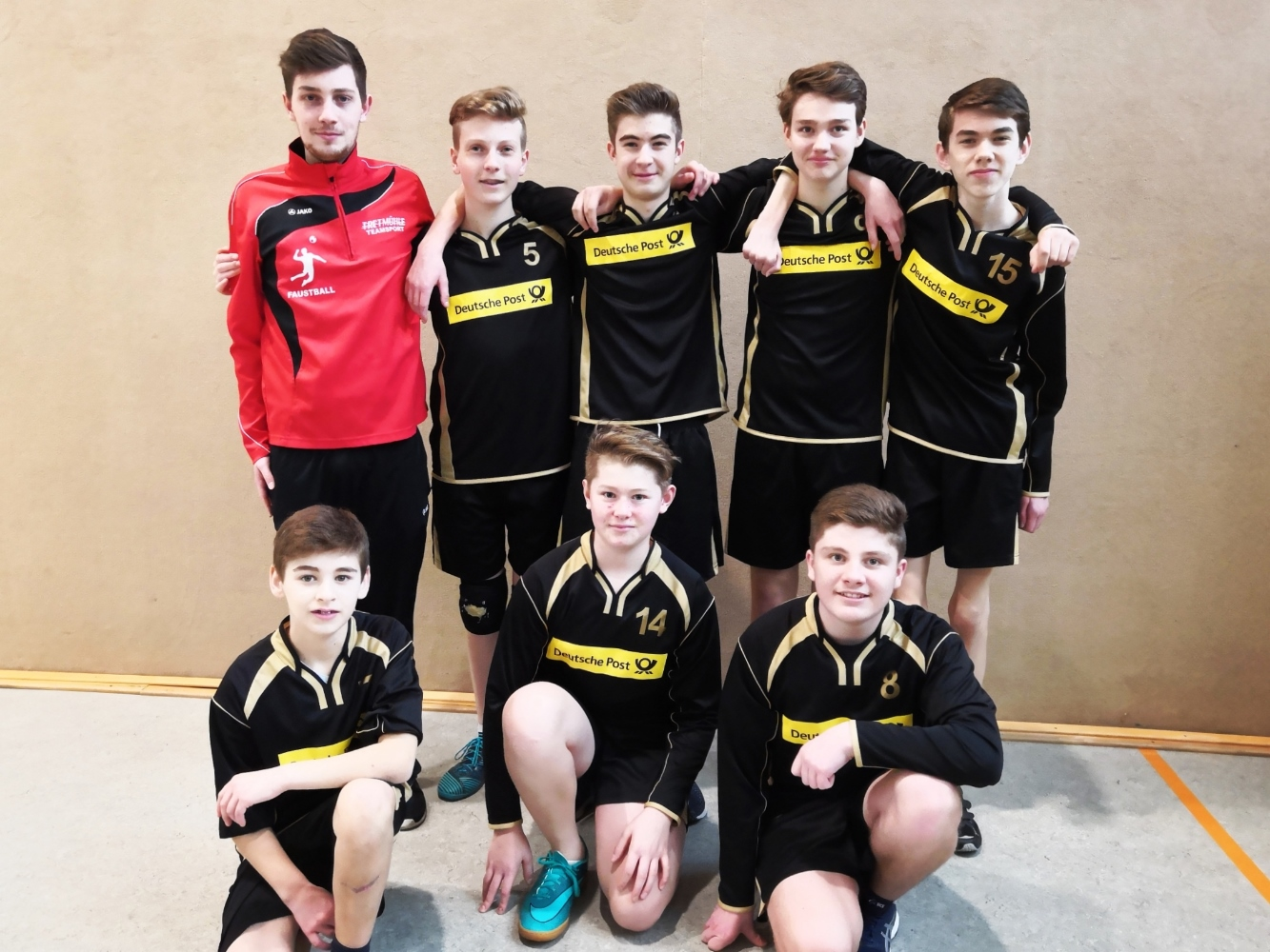 Die Spieler der U14/U16 in der Hallenrunde 2018-2019