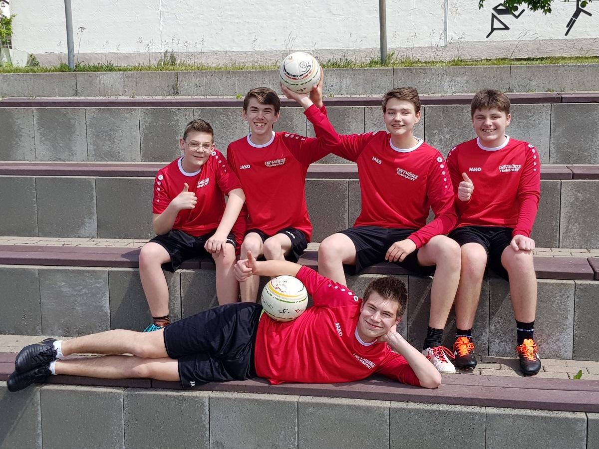 Mannschaftsfoto männliche U16