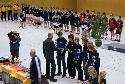 (Kirchen in blau-schwarzen Trainingsanzügen) Kevin Seibert, Tobias Schmidt, Tim Fischer, Patrick Schiep, Christian Weber, Pascal Schiep