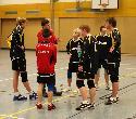 Paul Schroeter, Lukas Halbe, Trainer Sören Ebel, Robert Pfeifer, Nils Imhäuser, Robin Schuh, Nico Hammer
