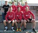 Tobias Stinner, Sören Ebel, Christian Weber, Sven Sauskojus <br>vorne: Philipp Faßbender, Stephan Streit, Markus Streit