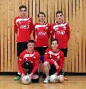 hinten: Jan Brendebach, Jan Hundhausen, Tim Schäfer<br>vorne: Tim Hammer, Lukas Halbe